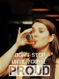 Pic #1 - Adding drunk people to motivational quotes drastically changes them