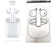 Pic #1 - All i see when i look at this Airpod photo is an angry Muppet