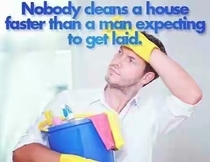 Pic #1 - As a man never have I ever been so eager to get my cleaning done
