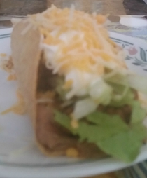 Pic #1 - Attempted taco shells At least it tasted good
