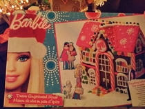 Pic #1 - Barbie Gingerbread House