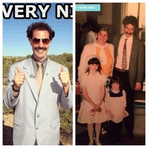 Pic #1 - Before Borat there was my Dad Circa
