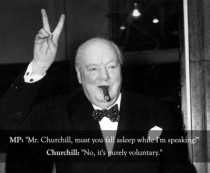 Pic #1 - Churchill was a boss