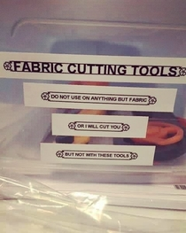 Pic #1 - Fabric Cutting Tools