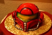 Pic #1 - For my first cakeday heres the Samus cake my girlfriend attempted to make for my birthday last year