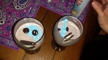 Pic #1 - Found on Facebook cookie monster cocktail