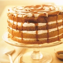 Pic #1 - Gorgeous Caramel and Cream Layer Cake