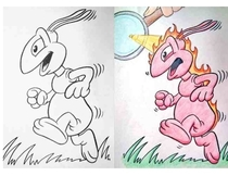 Pic #1 - Hilarious coloring book drawings