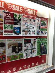 Pic #1 - I added some fake Black Friday deals to this stores weekly in-store flyer