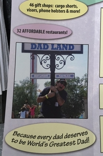 Pic #1 - I added this fake brochure to a travel kiosk on Hollywood Blvd