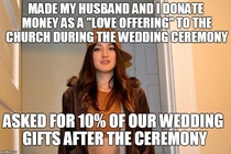 Pic #1 - I have so many Scumbag Stephanie memes for the pastor officiating at my wedding