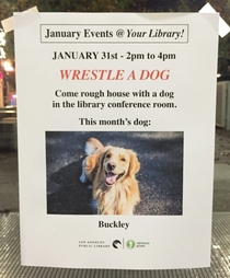 Pic #1 - I made up some fake events for my local library