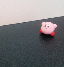 Pic #1 - Kirby swallows a Stormtrooper