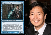 Pic #1 - Magic The Gathering cards that look frighteningly similar to celebrities