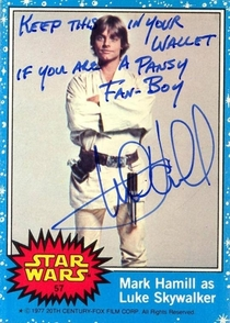Pic #1 - Mark Hamill Gives the Best Autographs