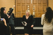 Pic #1 - My sister was a national champion in collegiate forensics this year and this is my favorite picture of her at the awards ceremony