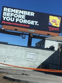Pic #1 - New billboard in Colorado shows that Totinos knows exactly who buys their products betterwhenbaked