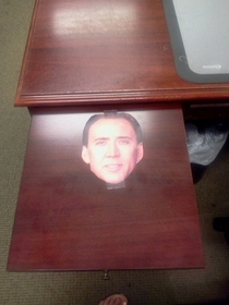 Pic #1 - New girl starts Monday I made sure her desk is ready