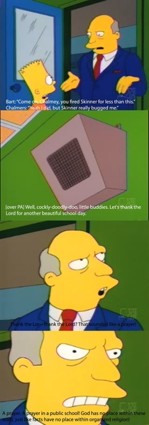 Pic #1 - One of my favourite Supernintendo Chalmers moments