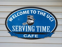 Pic #1 - Our local prison opened a cafe on site to the public where the inmates make and serve all the food Im surprised the name of the cafe got approved