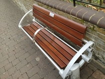Pic #1 - Park bench in East London