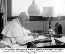 Pic #1 - Pope John XXIII is going to formally become a saint on Sunday  April  Here is a sample of his humorous quips