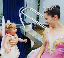 Pic #1 - Seeing a ballerina for the first time