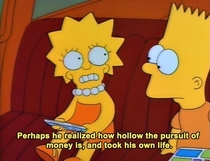 Pic #1 - Simpsons was deep