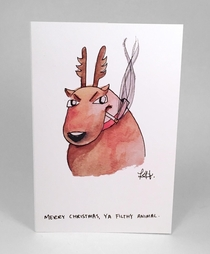 Pic #1 - So I just started a line of dark mildly offensive Christmas cardswhat do you think