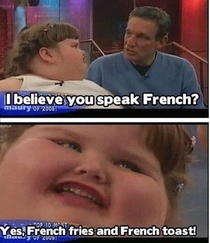 Pic #1 - Speaks French