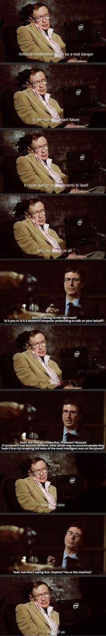 Pic #1 - Stephen Hawking is Hilarious