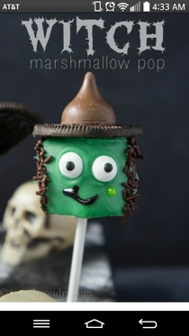 Pic #1 - The Witch Marshmallow Pop