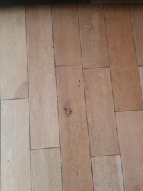 Pic #1 - Theres an alien face in my kitchen floor