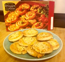 Pic #1 - Trader Joes Mini Pizzas
