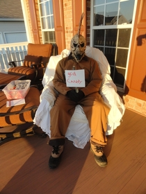 Pic #1 - Trick-or-Treaters Got To Make A Choice At My House Last Year