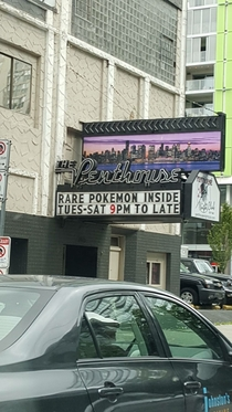 Pic #1 - Vancouver Strip club sign