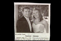 Pic #1 - Wedding Newspaper Clippings With Unfortunate Name Combinations