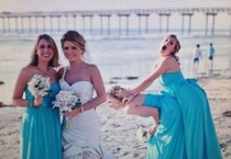 Pic #1 - Wedding Photobombs