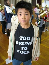 Pic #1 - Wildly offensive English language t-shirts are apparently all the rage in Asia