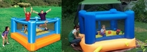 Pic #1 - Worlds smallest kids play on inflatables
