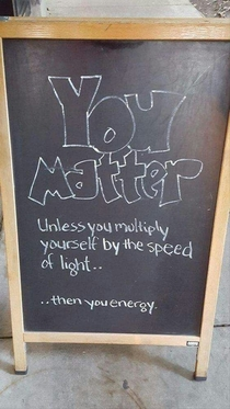Pic #1 - You matter