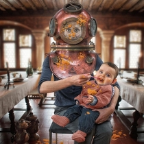 Pic #10 - Creative Father Makes Crazy Photo Manipulations With His Three Daughters