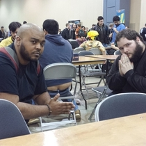 Pic #10 - I participated in one of the biggest Magic the Gathering tournaments of all time this weekend In an effort to document it I posed for pictures near people with exposed asscracks I present to you Grand Prix Richmond Crackstyle