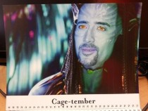 Pic #10 - My coworkers werent sure how to react to my custom-made  calendar