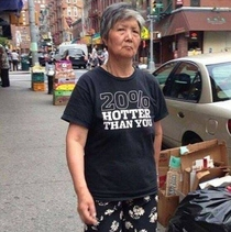 Pic #10 - Old people wearing funny shirts