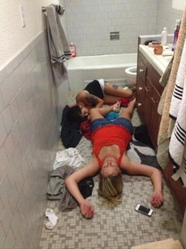 Pic #2 - And that kids is what happens when you drink alcohol