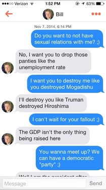 Pic #2 - Bill Clinton on Tinder