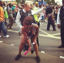 Pic #2 - British police at Notting Hill Carnival