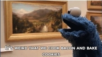 Pic #2 - Cookie Monster is a revolutionary thinker