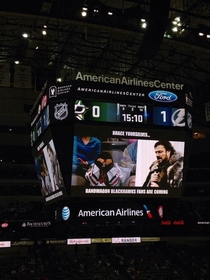 Pic #2 - Dallas Stars Jumbotron Operator Has Quite the Sense of Humor
